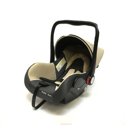 Автокресло Teddy Bear Baby Car Seat HB801 BEIGE/BLACK DOT
