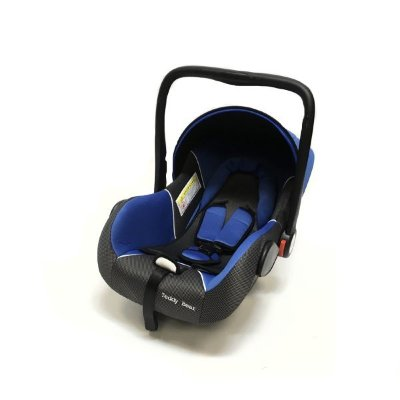 Автокресло Teddy Bear Baby Car Seat HB801 BLUE/BLACK DOT