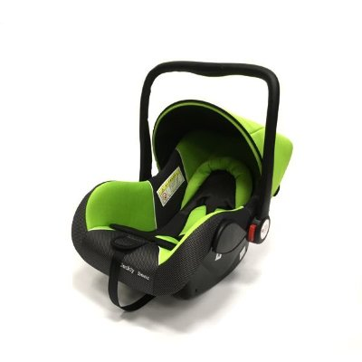 Автокресло Teddy Bear Baby Car Seat HB801 GREEN/BLACK DOT