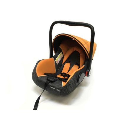 Автокресло Teddy Bear Baby Car Seat Hb801, Orange/Black Dot