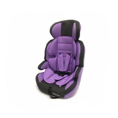 Автокресло Teddy Bear Lb515rf, Lilac/Black Dot