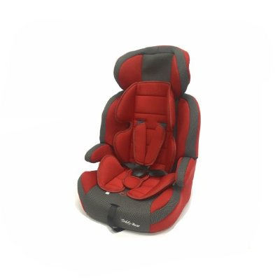 Автокресло Teddy Bear Lb515rf, Deep Red/Black Dot